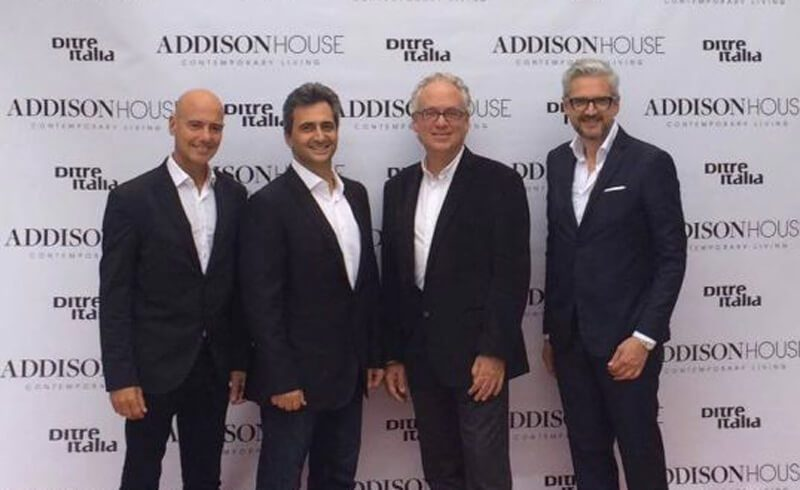 Ditre Italia protagonista all'inaugurazione del Miami Addison House nel prestigioso Miami Design District.
