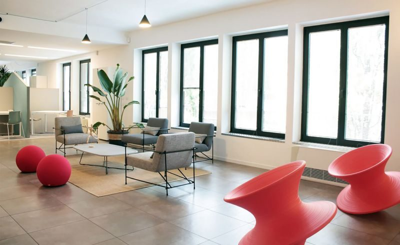 DoveVivo S.p.A. selects the Ditre Italia furnishings for the Milan offices