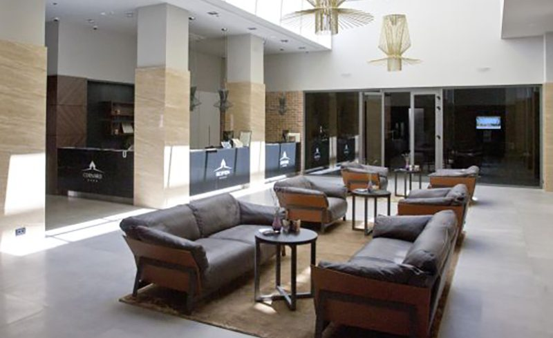 Art Interijeri, Ditre Italia's ambassador in Croatia, furnishes the cornaro hotel in split with Kanaha sofas