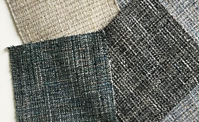 Ditre Italia chooses tweed mélange for its 2016 sofa and armchair collection.
