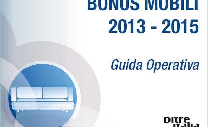 Il Bonus Mobili continua fino al 31 Dicembre 2015: scopri la Guida operativa!